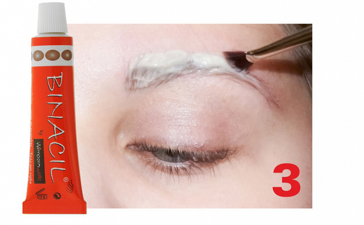 Brow Lifting & Styling - Step 3