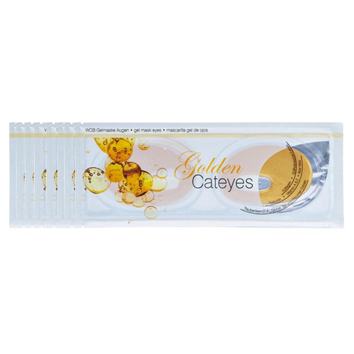 Χρυσή Μάσκα Ματιών - Golden Cateyes Gelmask (Σετ 8 Τεμ.)