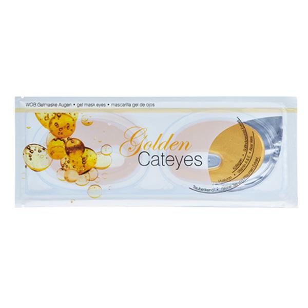 Χρυσή Μάσκα Ματιών - Golden Cateyes Gelmask