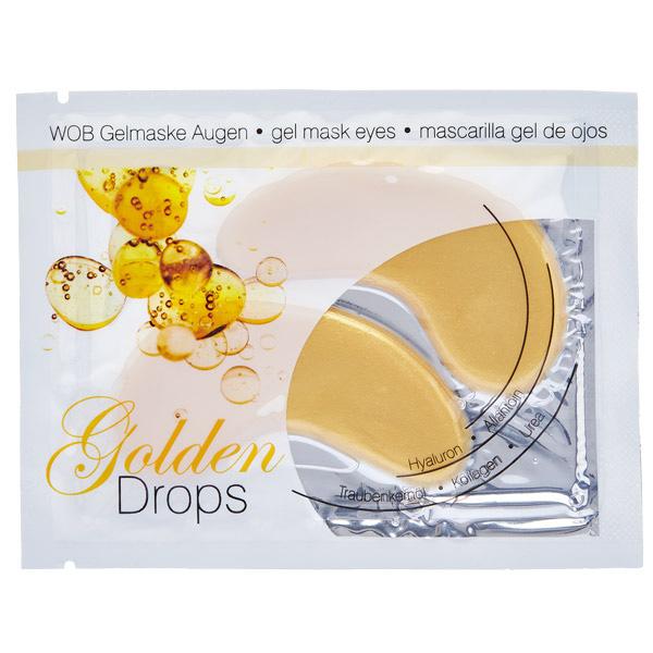 Χρυσή Μάσκα Τζέλ (επιθέματα) - Golden Drops