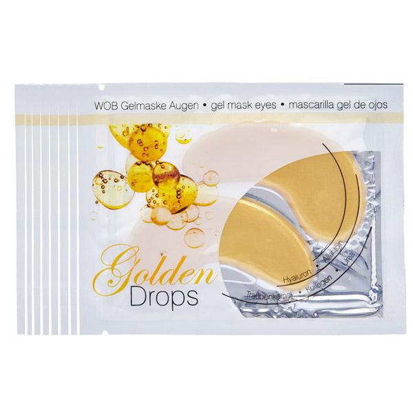 Χρυσή Μάσκα (Επιθέματα) - Golden Drops Gelmask (Σετ 8 Τεμ.)