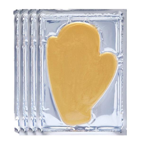 Χρυσή Μάσκα Γάντια - Golden Touch Hands Gelmask (Σετ 4 Τεμ.)