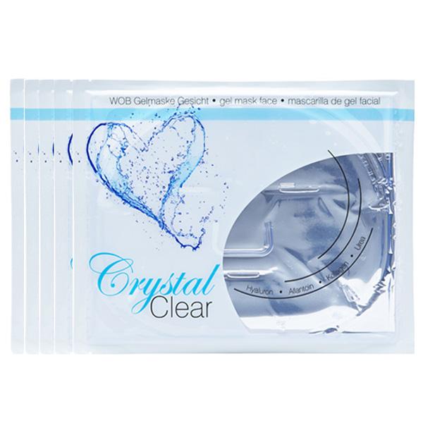 Ενυδατική Μάσκα Προσώπου - Crystal Clear Face (Σετ 5 τεμ.)