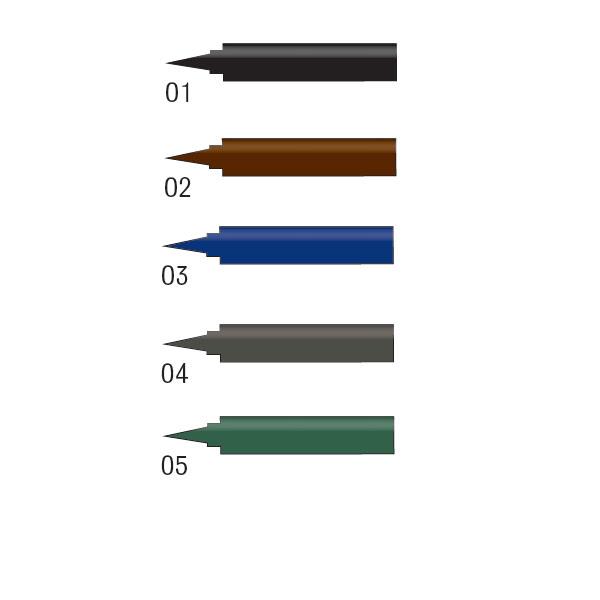 MC Permanent Eyeliner - Ανεξίτηλα Μολύβια Ματιών σε 5 Χρώματα